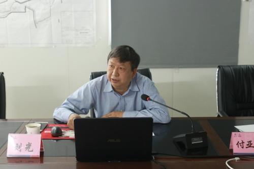 刘光在中东项目讲专题党课:以实际行动践行十九大精神